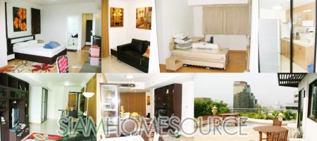 Large 2BR Asoke Condo with all Amenities