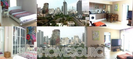 Wonderfully Decorated Petchaburi Road Condo – Close to MRT – GREAT VIEW