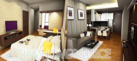 Adorable New 1BR Available in Sansiri Quattro Thonglor