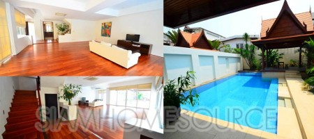 Very Modern, Well Equipped 4BR Phrom Phong House – Large Private Pool