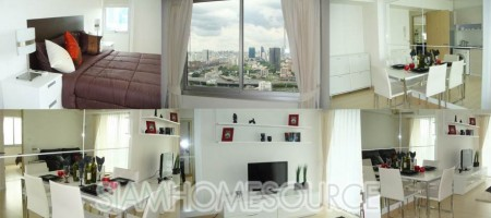 Brand New 1BR Condo on Petchaburi Road – Amazing City View from High Floor