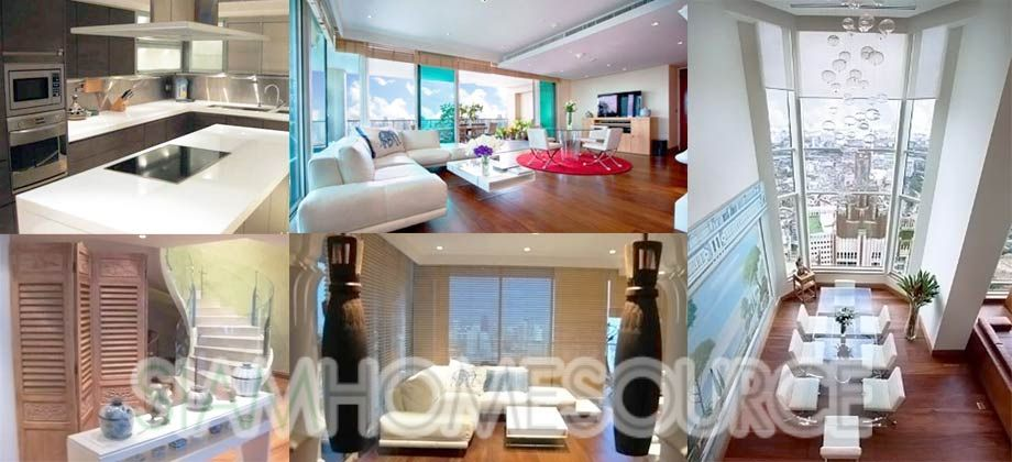 Exquisite 4BR Duplex Penthouse – Condo Rated Bangkok's Best Buildings