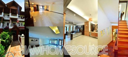 Spacious, Bargain Priced 3BR Phrom Phong Townhome – Resort Style