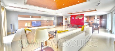 Ultra Spacious 3BR Phrom Phong Family Home – Lowrise Penthouse