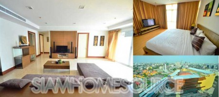 Convenient – Nicely Decorated 3BR Condo in Nusasiri Grand Ekkamai for Sale