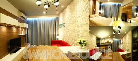 Affordable – MUST-SEE 1BR Condo @ Blocs 77 by Sansiri – On Nut BTS