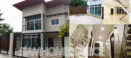 Modern 2-Story 3BR Detached House in Phra Khanong
