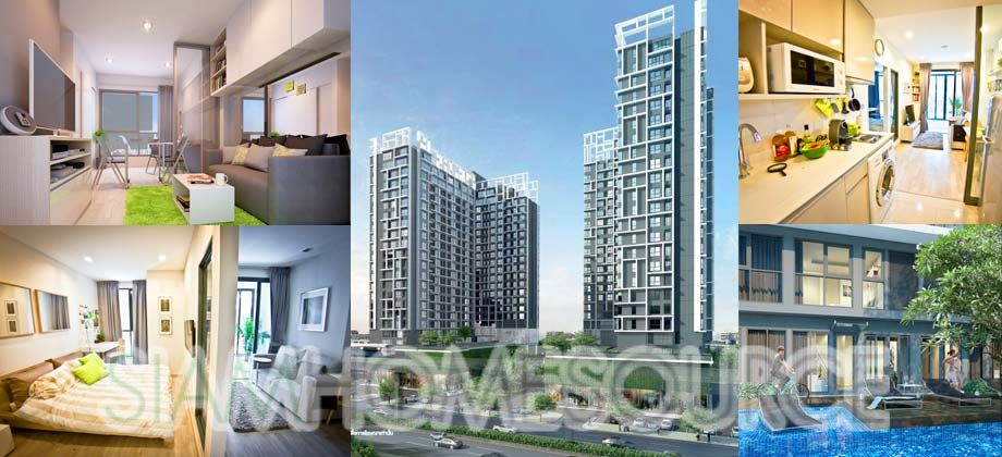 Brand New* 2BR Pool Front Duplex Condo – Ideo Mobi – On Nut BTS