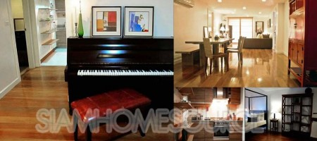 Classy 2BR Phrom Phong Condo w/ Character & Piano!