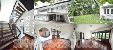 3BR Nana House on Quiet, Leafy Soi with Large Garden & Quirky Charm