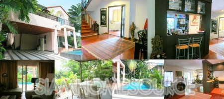 Well-Designed 4BR Phrom Phong House w/ Private Pool