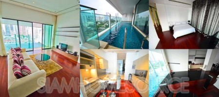 Upscale 2BR Phrom Phong Condo w/ Private Swimming Pool