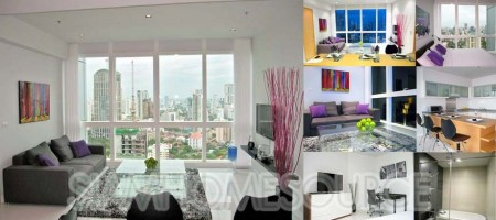 Well Furnished 1BR Asoke Luxury Condo w/ Spectacular View