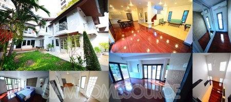 Spacious 5BR Thonglor Detached House w/ Garden