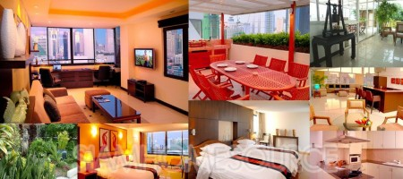 Luxury Penthouse w/ Rooftop Garden only 100m to Nana BTS