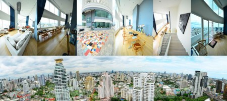 Absolutely Amazing 4BR Phrom Phong Duplex Penthouse
