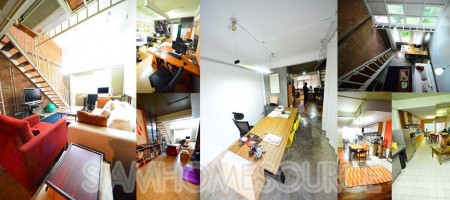 Cool 4-Story Loft-Style Asoke Home Office