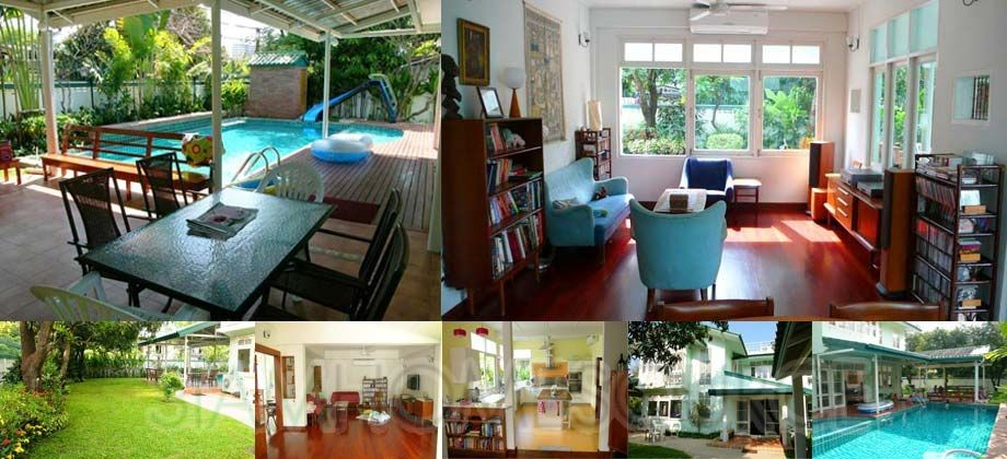 Adorable 5BR Family House w/ Private Pool in Thonglor