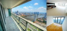 Exclusive, Unfurnished 2BR w/ Open Layout on High Floor @ The River Condo