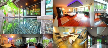 Artsy 3BR Thonglor Pool House in Fantastic Locaiton