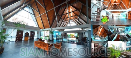 Unparalleled Space: 800sqm Duplex Penthouse Loft
