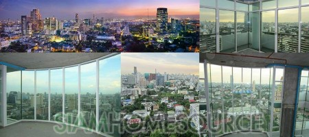 High-End 550sq.m. Bangkok Penthouse Duplex Bare Shell
