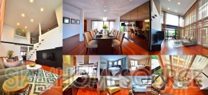 New, Modern & Well Furnished 3BR Duplex Penthouse Apartment