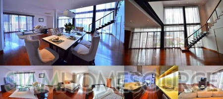 Luxurious 4BR Duplex Penthouse in Exclusive Boutique Apartment
