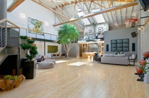 Loft from Converted Warehouse
