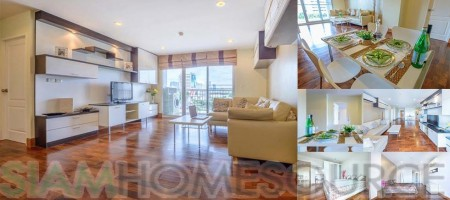 Bright, Cute & Affordable 3BR Phrom Phong Condo