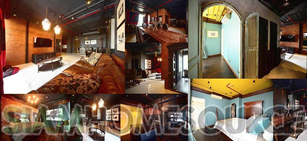 Suave 3BR Industrial Loft Style Condo that's Oozing with Style