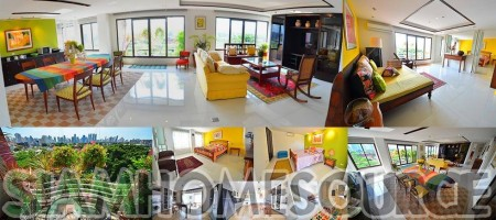 Charming 3BR Lumpini Penthouse in Exclusive Location