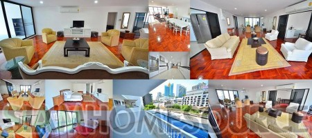 Enormous Newly Renovated 4BR Asoke Condo – Amazing Location