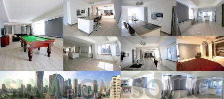 Fantastic Deal – Renovated, 3BR Bright Minimalist Silom Condo