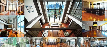 Topflight Bangkok Penthouse – 4BR Executive Duplex