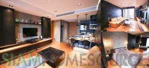 Sleek 1BR Thonglor Bachelor Pad in Chic, Modern Bangkok Condo