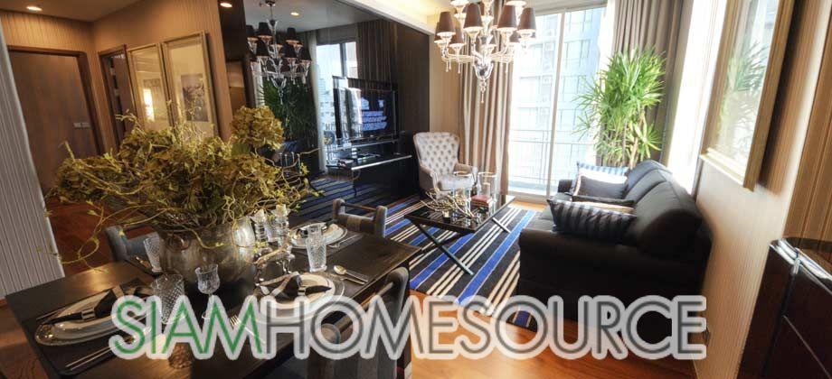 Lounge Room of Beautiful Thonglor Condo