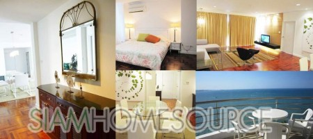 Enormous Exclusive Pattaya Beachfront Ocean View Condo