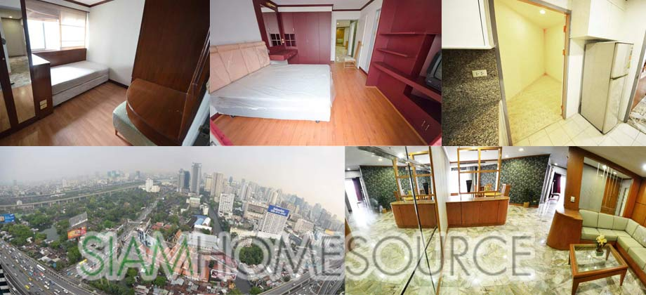 Lots of Options: Spacious Wireless Road 3BR Condo with Great View