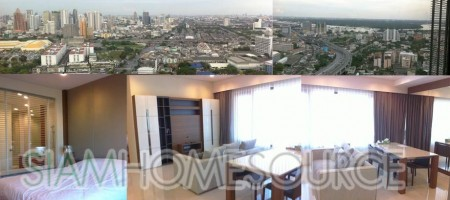 High Floor Rama IV Condo with Impeccable Unblocked City View