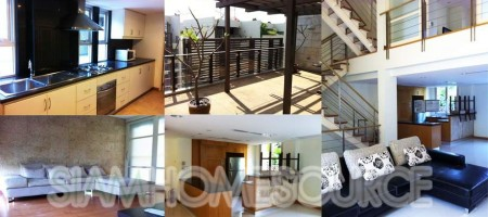 Spacious 4.5 Story Sathorn Townhouse for Sale