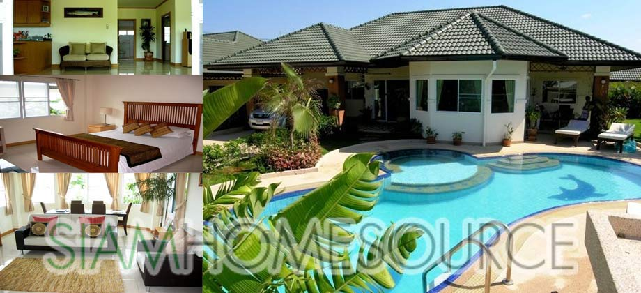 Beautiful Pattaya Pool Home in Quiet, Secure & Convenient Location