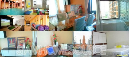 Awesome 2BR Asoke Condo for Sale with Tenant