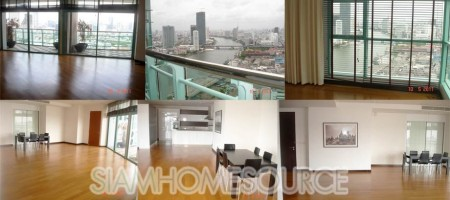 Beautiful 3BR Unit with 5-Star Facilities – Chao Phraya River View