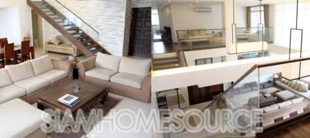 Beautiful & Luxurious 3BR Sathorn Duplex close to Surasak BTS