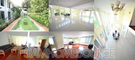 Spacious 4BR Asoke Detached House – Private Pool – Large Garden