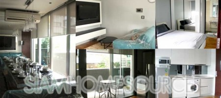 Luxury 1BR Sathorn Condo 50 Meters to Chong Nonsi BTS Station