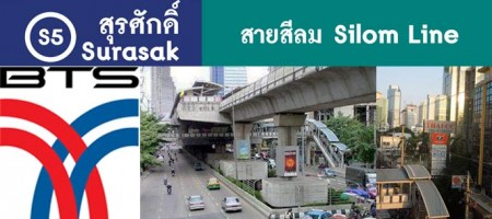 Surasak BTS Station – Sathorn Real Estate, Living & Condos Guide