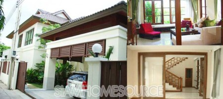 Affordable, Gorgeous & Spacious 3BR Detached Sathorn House