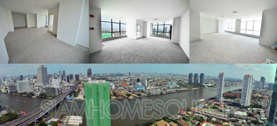 Affordable River View Penthouse – 3BR Condo Renovation Project